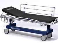 Patient transporter stretcher